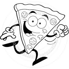 Pizza Pie Clipart Black And White Free Clipart