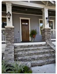 Image result for gray brick and siding exterior