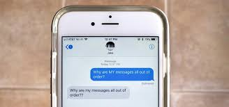 Messages Out of Order on Your iPhone Use These Fixes to Display