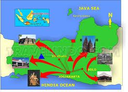 Map Of Solo Yogyakarta Overland