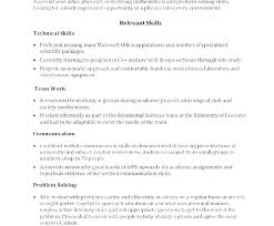 Communication Skill Resume Examples For Problem Solving Skills Sample List