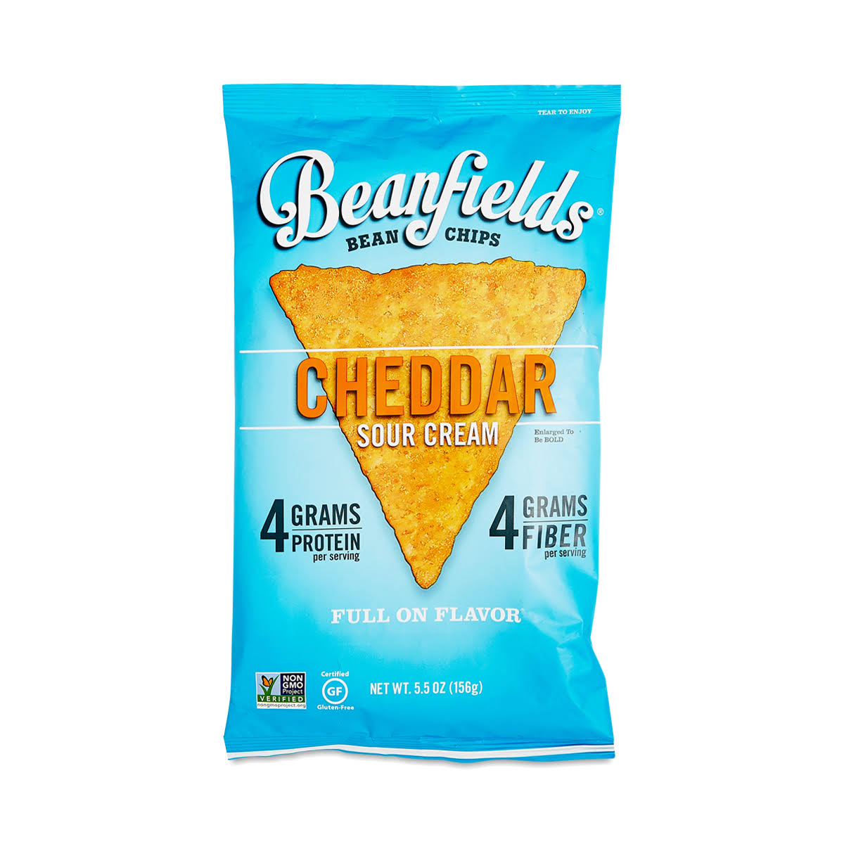 Beanfields Bean Chips, Cheddar Sour Cream - 5.5 oz