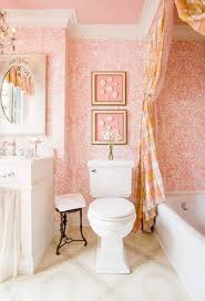 Guest Bathroom Ideas Pink Wallpaper And Tub With Curtaib And Vanity ... Small Guest Bathroom Ideas And Majestic Unique For Bathrooms Pink Wallpaper Tub With Curtaib Vanity Bathroom Tiny Designs Bath Compact Remodel Pedestal Sink Mirror Small Guest Color Ideas Archives Design Millruntechcom Cool Fresh Images Grey Decorating Pin By Jessica Winkle Impressive Best 25 On Master Decor Google Search Flip Modern 12 Inspiring Makeovers House By Hoff Grey