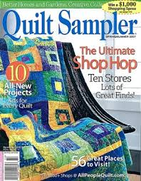 Quilt Sampler Magazine Spring Summer 2007 CArriage Country Quilts
