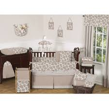 sweet jojo designs giraffe 9 piece crib bedding set free