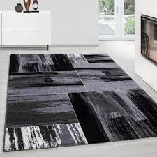 teppiche modern design rechteckig kurzflor pflegeleicht