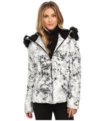 upc 700770348004 betsey johnson short marble print puffer coat