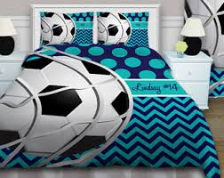 Soccer Themed Bedroom Photography by Soccer Bedding Etsy