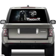 Vehicle Rear Window Decal - Punisher | Trade Me Window Decals For Trucks New Show Me Your Rear Decalsstickers American Flag Full Decal Fits 52018 Chevy Colorado Amazoncom Vuscapes 763szd Chevy Black Bkg Truck Car Graphics Allen Signs Impala Windshield Or And 50 Similar Items Me Your Rear Window Decalsstickers Page 76 Ford F150 Forum Distressed Vintage Graphic Auto Motors Intertional Moose Suv Funny Cat Wiper Body Stickers High Beam Scary Reflective For Dt17 Black Best In Calgary Cars Resource