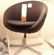 Skruvsta Swivel Chair Idhult White by Markus Swivel Chair Black Robust Black Zoomly
