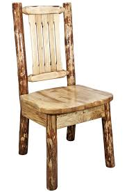 Captains Chairs Dining Room by Amazon Com Montana Woodworks Glacier Country Collection Dining