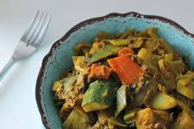 cuisiner legumes curry de légumes wok curry