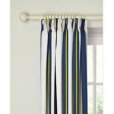 Lined Curtains John Lewis by John Lewis Striped Curtains With Pencil Pleat Ebay