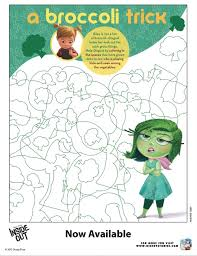 Disney Inside Out Activity Sheet MommyMafia Coloring