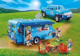 playmobil up mit wohnwagen 9502