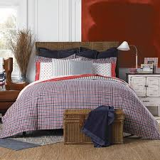 Tommy Hilfiger Curtains Special Chevron by Tommy Hilfiger Timeless Plaid Reversible Cotton Comforter Set