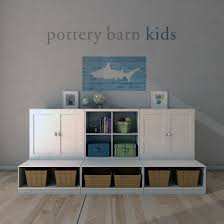 Pottery Barn, Cameron Low Storage System With Open Bases. By ... Pottery Barn Kids Cameron Storage Unit Aptdeco Bins Metal Canvas Food Dollhouse Jewellery Cabinet Media Shelf Ebth Nice Collection Copy Cat Chic In Sofas Fabulous Upholstered Bed Chair Birdthemed Nursery While Everyone Else Is Sleeping 3shelf Bookcase Office Desk System Hutch Honey Corkboard Pottery Barn Cameron Sofa Okaycreationsnet