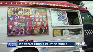 Ice Cream Trucks Banned In Beech Grove But Politicians Can Still ... Creamy Dreamy Ice Cream Trucks Value And Pricing Rocky Point Big Bell Cream Truck Menus Creamery Pinterest Best Photos Of Truck Menu Prices Dans Waffles Dans Waffles Services Chriss Treats A Brief History The Mental Floss Ice In Copley Square Boston Kelsey Lynn I Scream You We All For Carts At Weddings The Mister Softee So Cool Bus Parties Allentown Lehigh Valley
