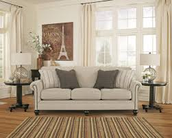 Transitional Living Room Furniture Sets by Transitional Sofa With Rolled Arms With Nail Head Trim By