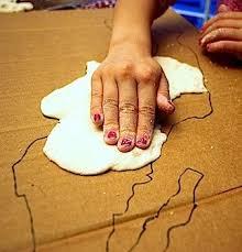Kids Making Salt Dough 3d Maps Kid World Citizen
