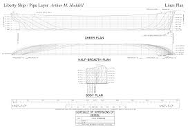 Model Ship Plans Free Download by Liberty Ship Arthur M Huddell The Model Shipwright
