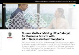 bureau verita bureau veritas hr a catalyst for business growth with sap