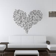 decorate the rooms at home with fantastic flower wall decals