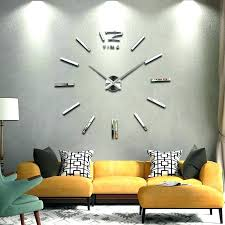 Large Wall Clocks Contemporary Oversized Modern Clock New Home Decor