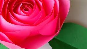 1046 Paper Rose Flower