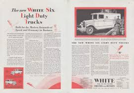 100 Trucks Paper The New White Six Light Duty Ad 1929 T At Amazons