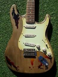 Image Is Loading DY Guitars Aged Rory Gallagher Relic Strat SRV