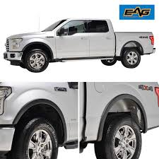 100 Truck Flares Amazoncom EAG Fender 4pcs Textued Satin Black For 1517