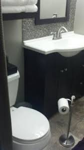Glacier Bay Bathroom Vanity With Top by Shop Style Selections Euro Vanity Espresso Belly Bowl Single Sink