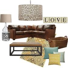 Brown Couch Living Room Decorating Ideas by Best 25 Yellow Living Rooms Ideas On Pinterest Living Room
