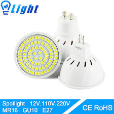led bulb spot led l light gu5 3 mr16 gu10 e27 ac 220v dc 12v