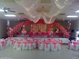 quinceanera ceiling decorations quinceanera hall decorations