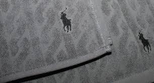 Polo Ralph Lauren Bathroom Sets by Ralph Lauren Towel Set Of 2 Grey Bath Face Tv9