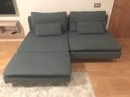 Ikea Soderhamn Sofa Cover ikea soderhamn sofa bed chaise longue söderhamn finnsta turquoise