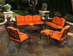 Cast Aluminum Patio Sets by Lovable Orange Patio Furniture Sets Cast Aluminum Patio Furniture