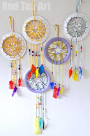 Paper Plate Crafts 3 Dream Catcher