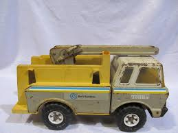 Tonka Bell System Truck, Some Parts Missing | HiBid Auctions The Rebirth Of A Tonka Truck Papa Mikes Place Usaf Jeep For Restoringparts Only 1 Headlight 1960s Vintage Tonka State Hi Way Dept 975 Parts Or Restoration Fire Trucks In Action By Victoria Hickle 2003 Board Book Ride On Dump Canada Best Resource 1959 Bronze Pickup Repair 11545846 Ford Cab 1960 For Sale Holidaysnet Metal All Original Parts Custom 1955 Mfd Water Pumper Truck Works Cstruction Equipment