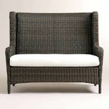 Faux Wood Patio Furniture Best Lovely Wicker Outdoor Sofa 0d