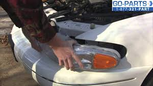 replace 1997 2005 buick century headlight bulb how to change