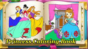 Watch Inspiration Web Design Princess Coloring Book Games