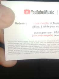 Im Trying To Redeem Free Skull Candy You Tube Red 3 Months ... 35 Off Skullcandy New Zealand Coupons Promo Discount Skull Candy Coupon Code Homewood Suites Special Ebay Coupons And Promo Codes For Skullcandy Hesh Headphones Luxury Hotel Breaks Snapdeal Halo Heaven 2018 Meijer Double Policy Michigan Pens Com Southwest Airlines Headphones Earbuds Speakers More Bdanas Specials Codes Drug Mart Direct Putt Putt High Point Les Schwab Tires Jitterbug