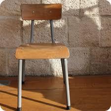chaise d colier meubles vintage chaises fauteuils chaise d écolier 60 s