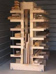 inexpensive conduit lumber rack workshop and tools pinterest