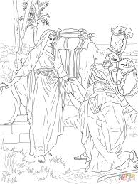 12 Spies Sent To Canaan Coloring Page In Twelve