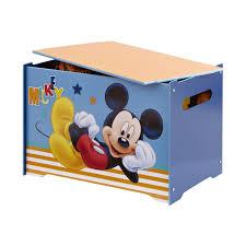 coffre à jouets mickey mouse disney le coin des petits