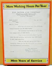 100 Canton Truck Sales 1927 REO Speed Wagon Building Contractor Brochure